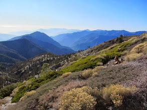 Photo: View west from the south ridge of Pine Mt.