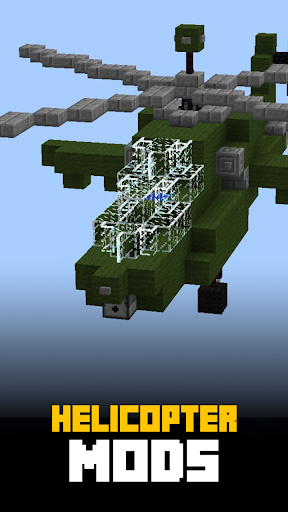 直升机MODS的对于MCPE