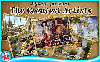 Screenshot of Greatest Artists:Jigsaw Puzzle
