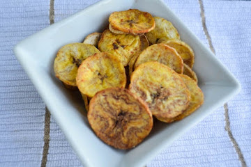 Bake Plantain Chips