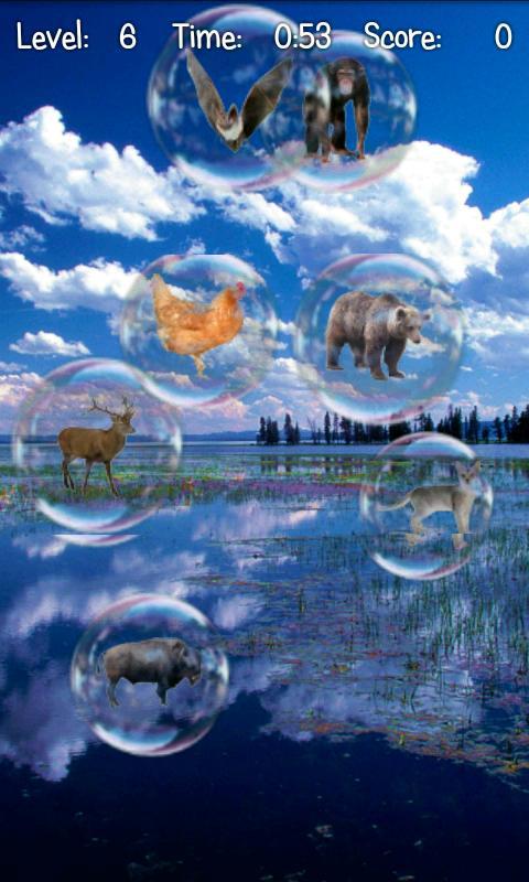 Скриншот Bubble Pop ABC Kids Game Free