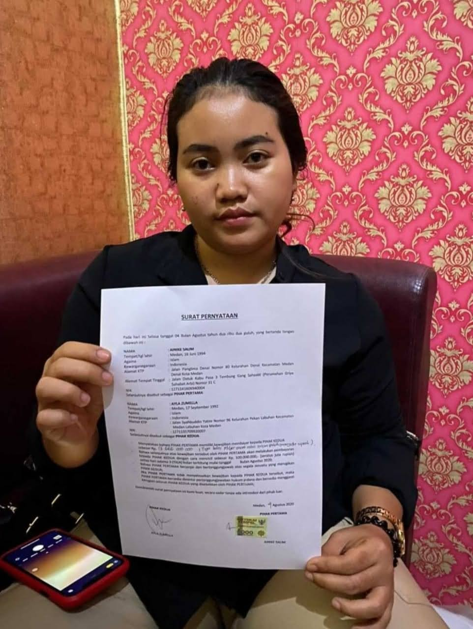 Polisi Didesak Tangkap Ainike Salim Larikan Uang Investasi Bodong Rp. 20 Miliar