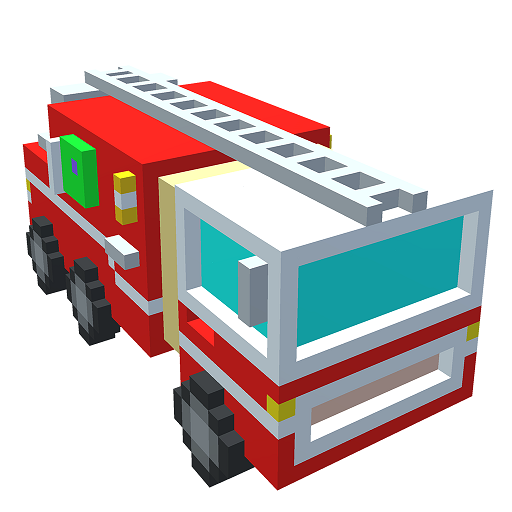 Vehicles 3D Color by Number - Voxel Coloring Pages Icon