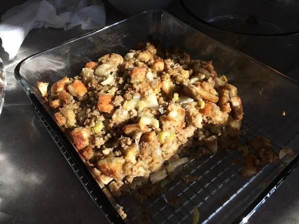 Roast The Stuffing Outside The Turkey