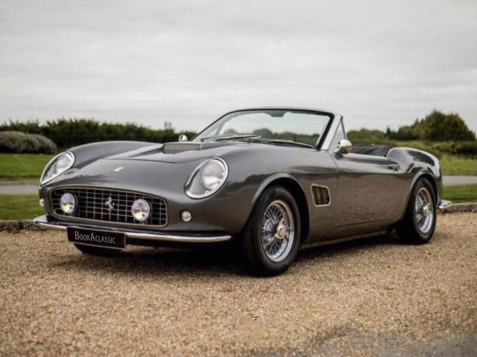 Ferrari  250 Gt California Recreation Hire Arundel