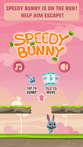Speedy Bunny: Run, Jump & Tilt screenshot 0