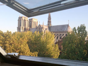 2 bedroom with exceptional views of Notre Dame and Seine