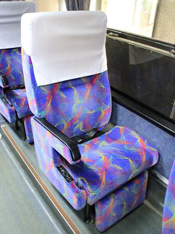 西鉄高速バス「桜島号」昼行便 3913 シート
