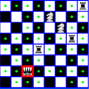 Chess Queen,Knight and Rook Problem