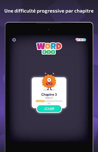 Word Box - Mots mêlés français  captures d'écran 6