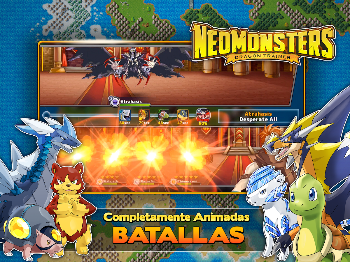 Neo Monsters: captura de pantalla