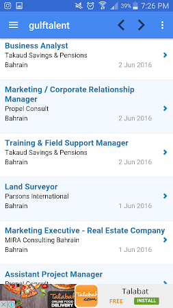 Job Vacancies In Bahrain 1.8 screenshot 2090983