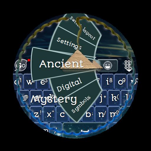 古老神秘 GO Keyboard 個人化 LOGO-玩APPs