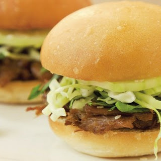 Thai-Style Pulled Duck Sliders