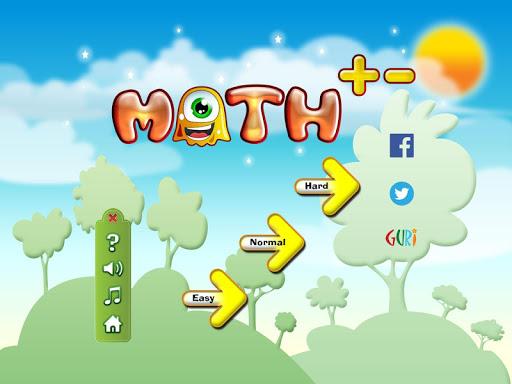 Math+- addition subtraction