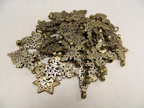 Photo: Coptic Crosses from Ethiopia at Objets D'Art