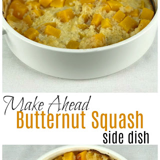 Butternut Squash Freezer Meal Side Dish.