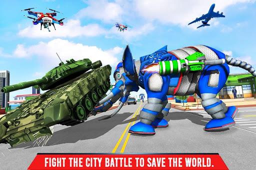 Police Elephant Robot Game: Police Transport Games 1.0.1 3