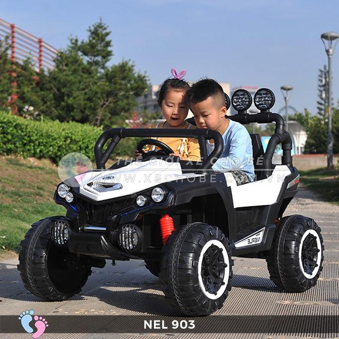 Xe ô tô điện địa hình NEL-903 4 động cơ 1