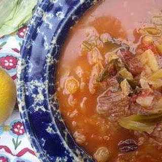Russian Cabbage Borscht Recipe