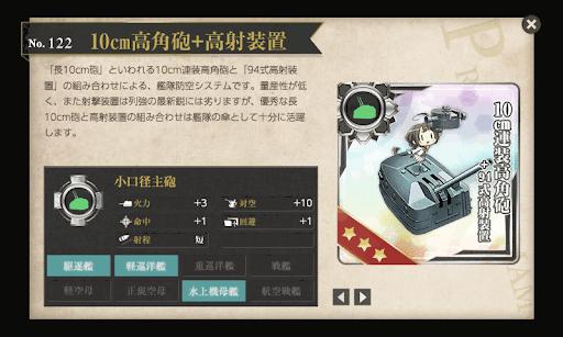 10cm高角砲+高射装置