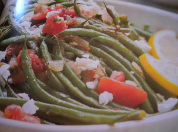 Oregano Green Beans