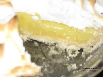 Mom's Lemon Pucker Pie