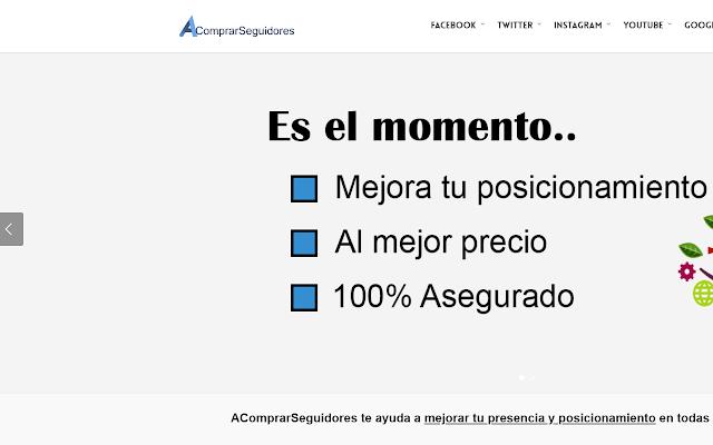 AComprarSeguidores | Marketing online