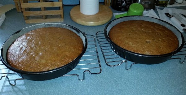 Cool in pans 30 minutes then turn out to wire racks to cool completely....