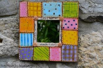 Photo: wooden mirror 1