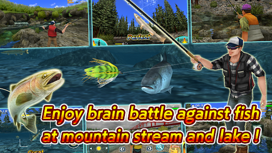 Fly fishing 3d ii hack mod apk for Fly fishing games