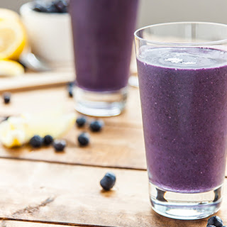 Blueberry Lemon Tart Smoothie