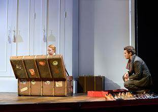 Photo: Wien/  Theater in der Josefstadt: AM ZIEL von Thomas Bernhard. Inszenierung Cesare Lievi. Premiere am 12.3.2015.  Therese Lohner, Christian Nickel. Foto: Barbara Zeininger