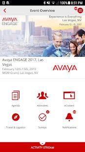 Avaya CX - náhled