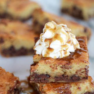 Kentucky Derby Pie Chocolate Chip Cookie Bars