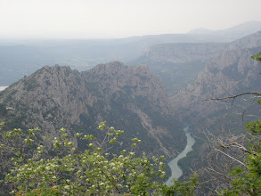 Photo: Verdon river from the Col de Liloire, 964m
