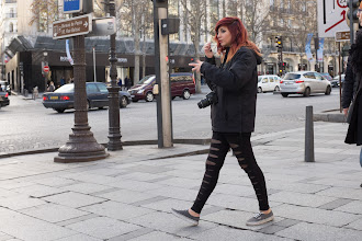 Photo: Street photography on the Champs Elysee