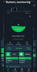 BatteryGuru v1.8.9.5 MOD APK – Battery Monitor – Battery Saver 1