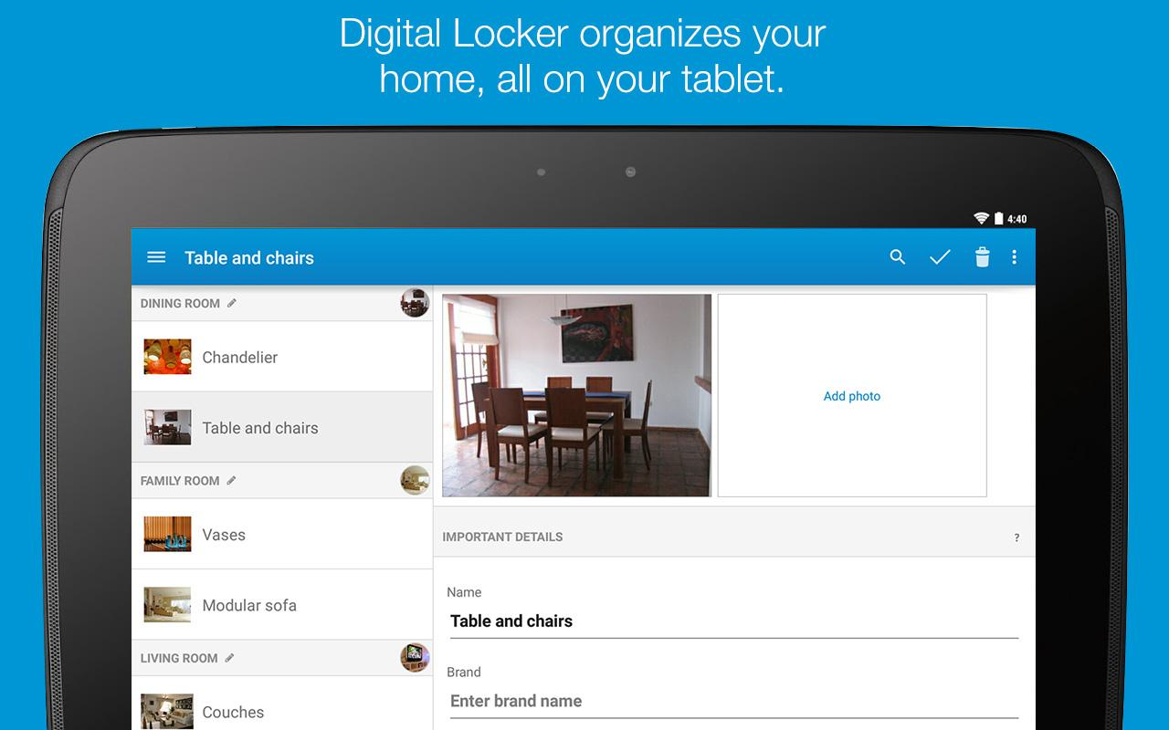 Allstate Digital Locker® - screenshot