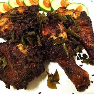 Ayam Goreng Berempah ( Malay Spiced Fried Chicken).