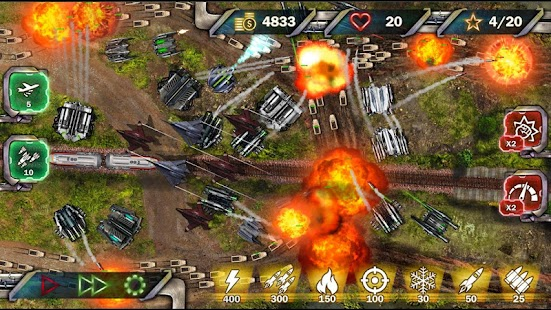 Protect & Defense: Tank Attack Screenshot