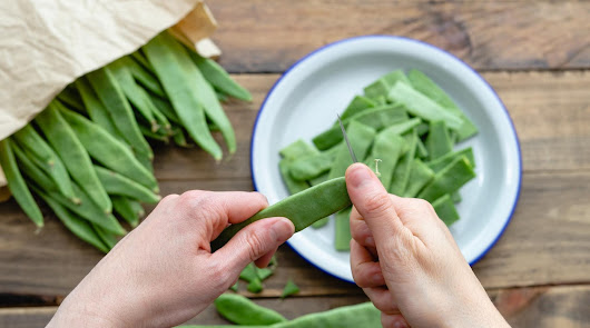 Comienza la semana con una ensalada de judías verdes y nueces