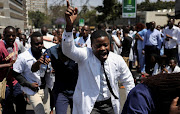 Doctors in Zimbabwe are in the second month of a strike over salaries. File photo.