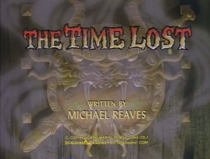 The Time Lost title card