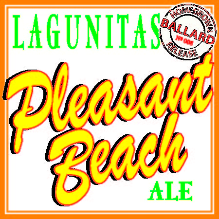 Logo of Lagunitas Pleasant Beach Pale Ale