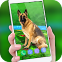 Pet Dog Live Wallpaper HD: Cute Dog Backgrounds icon