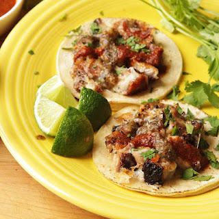 Yucatecan Pork Belly and Cheese Tacos (Tacos de Castacán Con Queso)