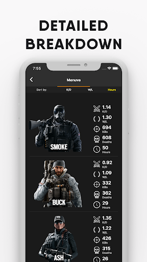 R6 Squad: Track your Squad for Rainbow Six Siege - screenshot