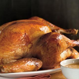 Salt-Rubbed Roasted Turkey Recipe