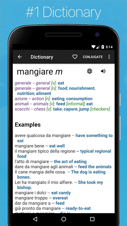 Italian English Dictionary- screenshot